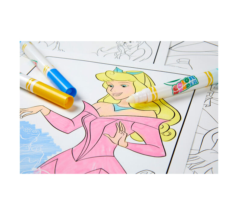 Color Wonder Mess Free Princess Coloring Pages & Markers