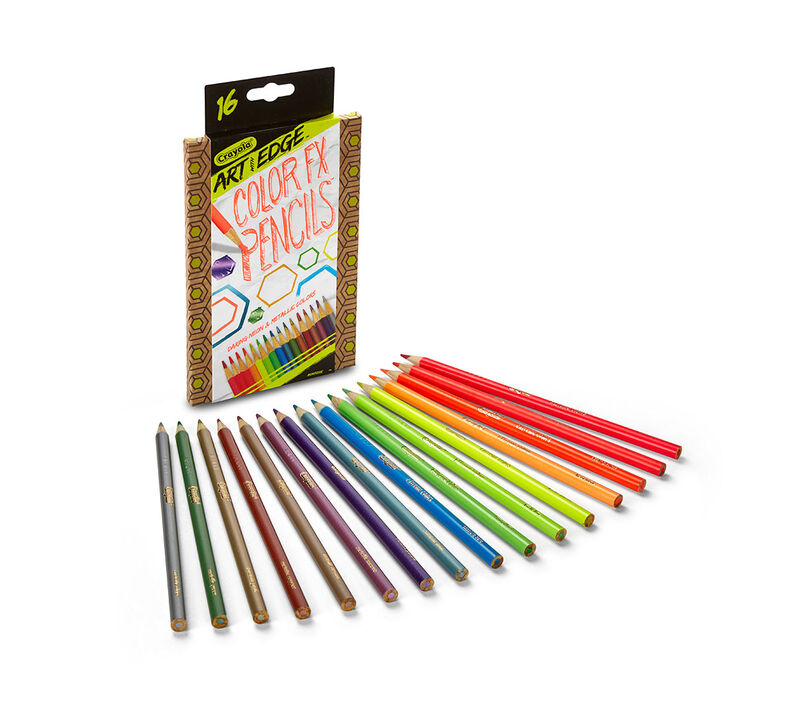 Art with Edge Color FX Pencils, 16 Count