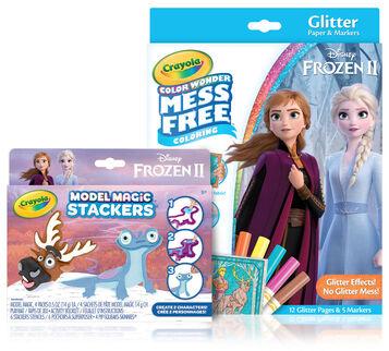 Color Wonder Mess Free Frozen 2 Set & Stackers Craft Kit