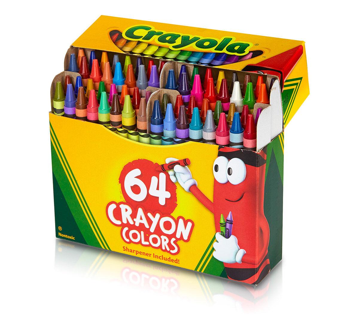 crayola coloring book 64 pages crayola crayons 64 count crayola