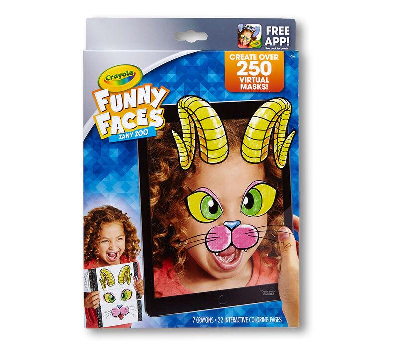 Funny Faces, Zany Zoo