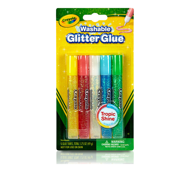Super Sparkle Washable Glitter Glue 5 ct.