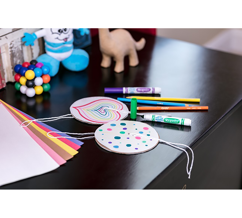 DIY Paper Spinners Craft Kit