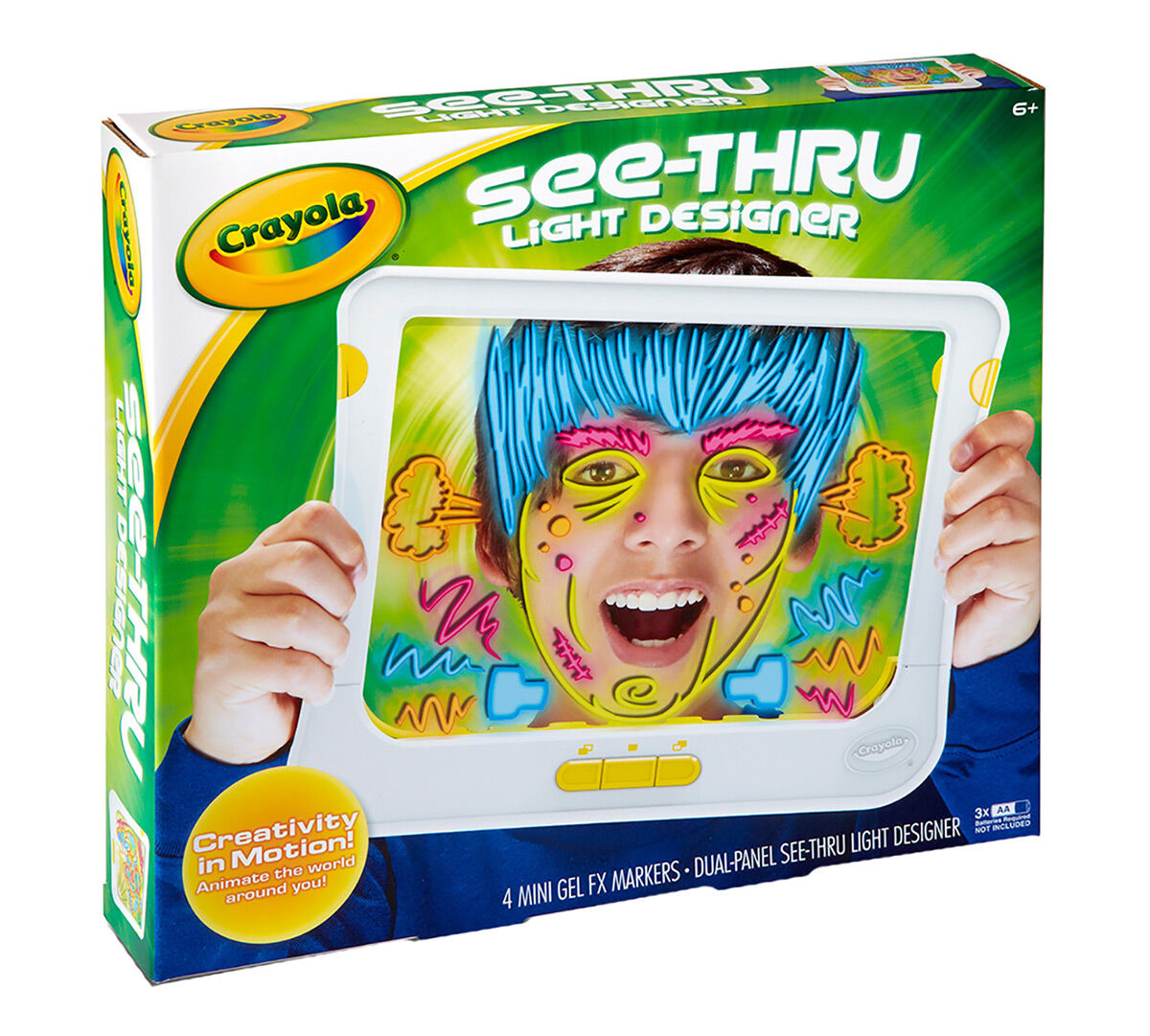 Crayola See Thru Light Designer Crayola