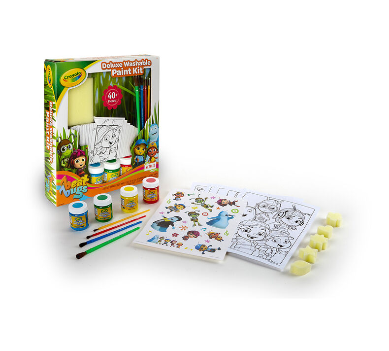 Deluxe Washable Paint Kit, Beat Bugs