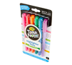 Take Note Dual Tip Highlighter Pens, 6 Count Right Angle