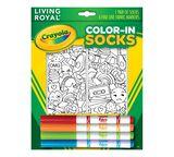 Crayola Color In Socks Stickers