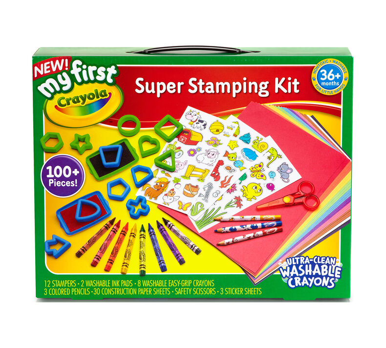 81 1357 0 Product My First Stampers Super Stamping Kit 3H