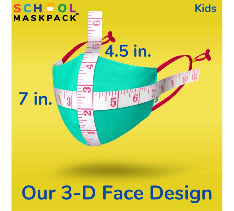 Crayola Kids Reusable Cloth Face Mask Set