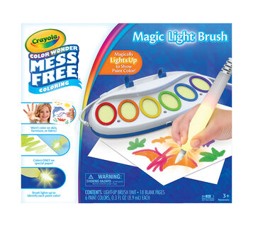 Crayola Color Wonder Mess Free Magic Light Brush
