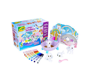 Scribble Scrubbie Peculiar Pets Playset