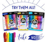 Take Note Erasable Highlighters 6 count front