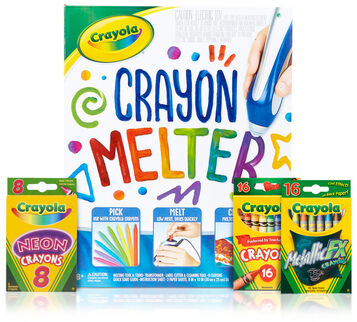 Crayon Melter Pumpkin Craft Bundle