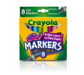 Gel Washable Markers 8 ct.
