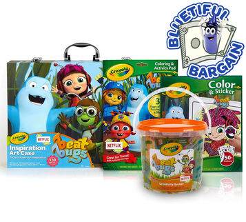 Beat Bugs Coloring & Craft Value Set Front View