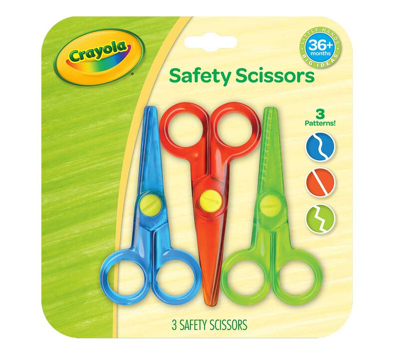 My First Crayola Safety Scissors, 3 Count