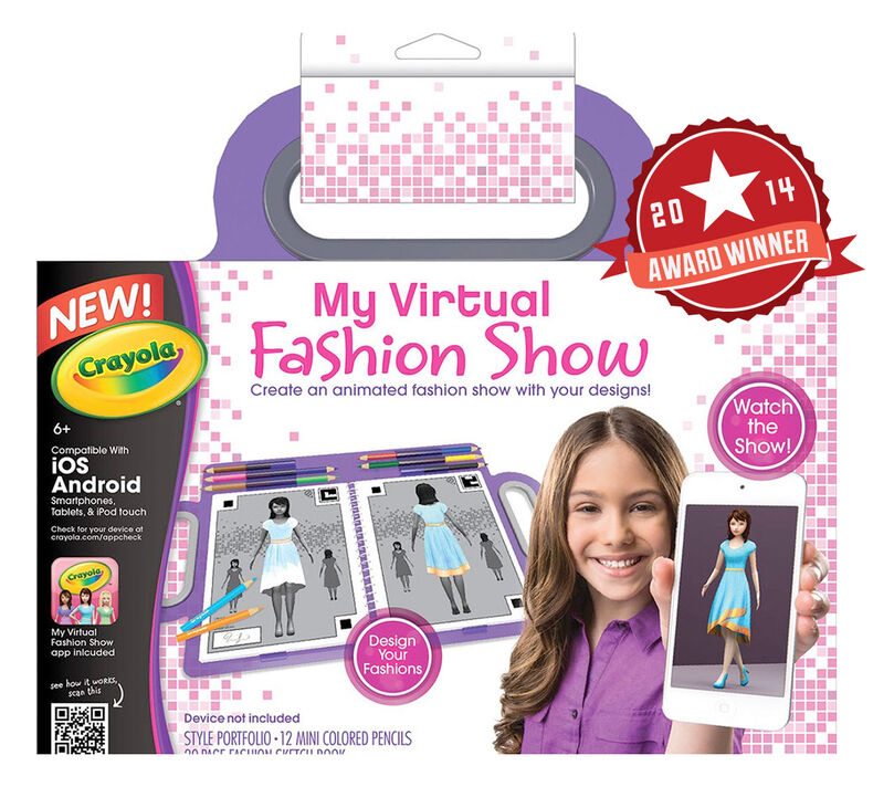 My Virtual Fashion Show Crayola