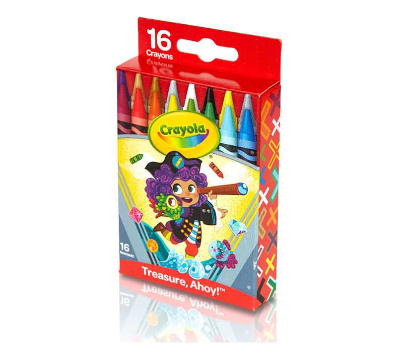 Pirate Crayons, 16 Count