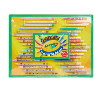 Twistables Crayons & Colored Pencils Set Front of Package