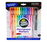 Take Note Permanent Markers 24 count Front of package