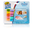 Color Wonder Mess Free Mini Markers, 10 Count, Pastel Front View