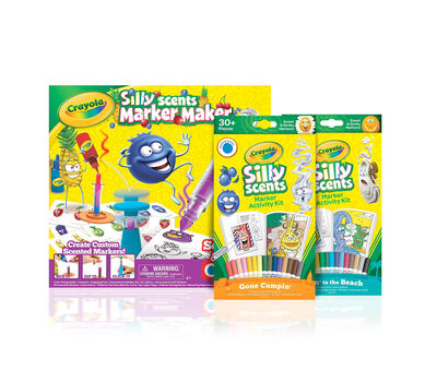 Silly Scents Marker Maker & Activity Kits