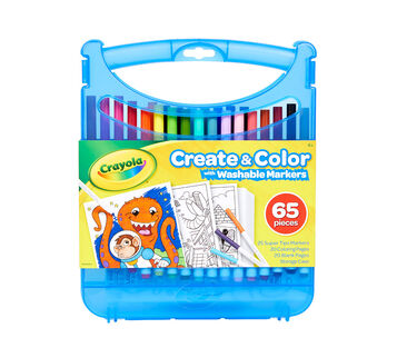 Create and Color With SuperTips Washable Markers