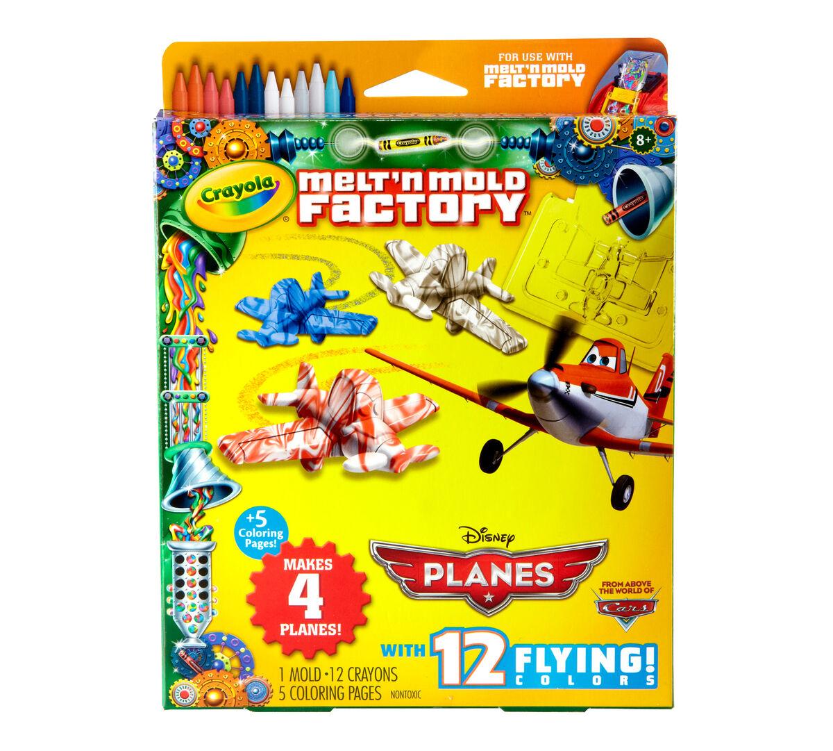 Melt 'n Mold Factory Disney Planes Refill Pack