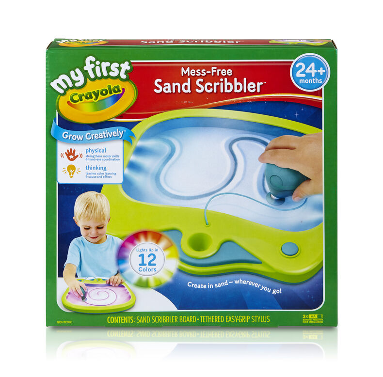 My First Crayola Mess Free Sand Scribbler