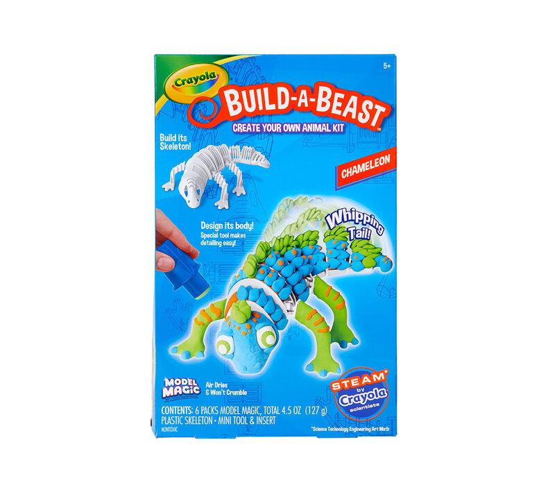 Build A Beast Chameleon Craft Kit