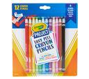 Easy Peel Crayon Pencils Front View