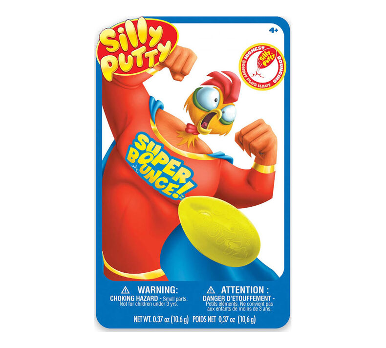Silly Putty, Super Bounce Mystery Color, 1 Count