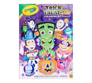 Trick or Treat Coloring Book