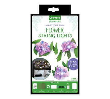 Signature Make Your Own Flower String Lights Craft Kit