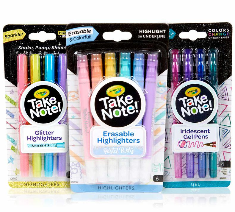 3-in-1 Take Note Specialty Writing Supply Set