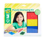 My First Crayola Stage 3 Puzzle Stampers Front View of Package
