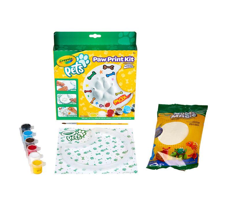 Crayola Pets Paw Print Keepsake Kit, Moon