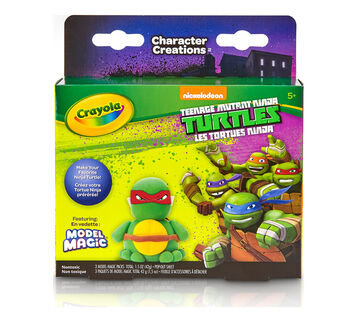 Model Magic Craft Pack Teenage Mutant Ninja Turtles front