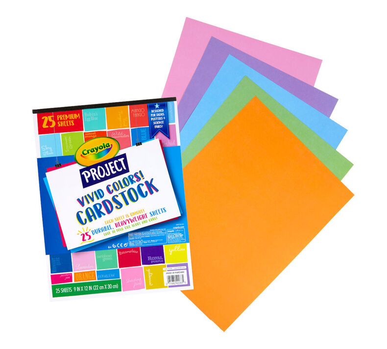 Vivid Colors Cardstock