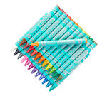 Pearl Crayons, 24 Count Front View of Package