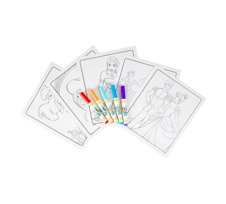 Color Wonder Disney Princess Coloring Pages | Crayola.com ...