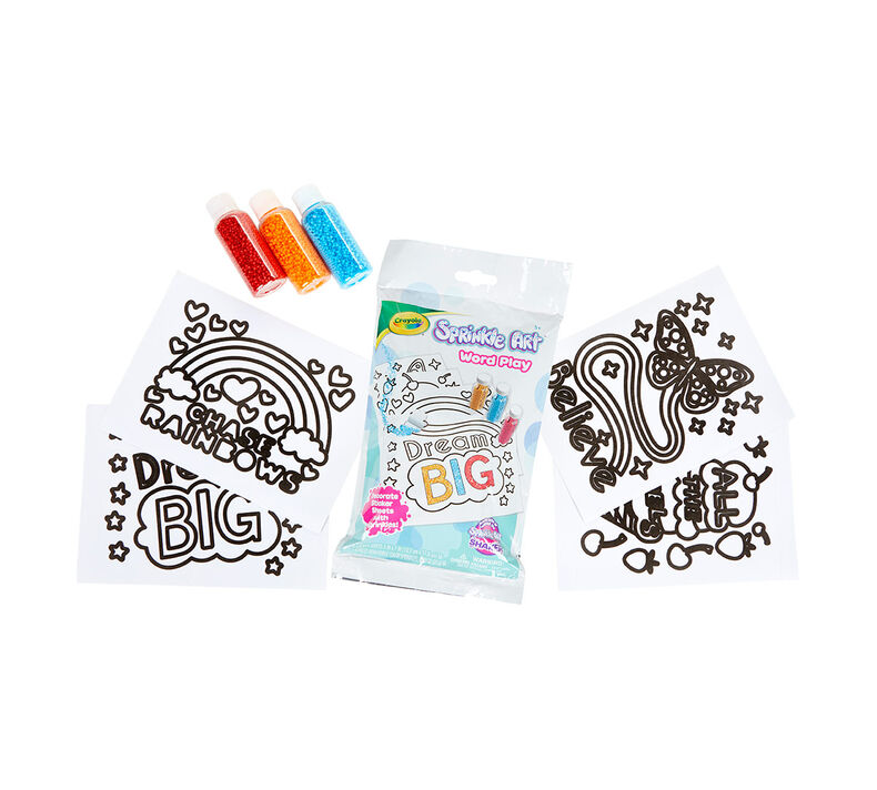 Sprinkle Art Say What Activity Set