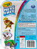 Color Wonder Mess Free On the Go, Paw Patrol Back View