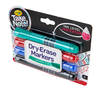 Take Note Colored Dry Erase Markers, 4 Count Right Angle