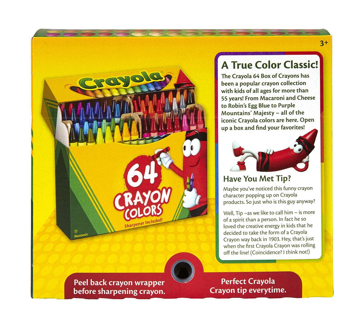 Crayola Crayons 64 Count - Crayola