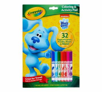 Blue's Clues and You Color & Activity Set Front View