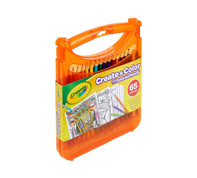 Create and Color with Colored Pencils