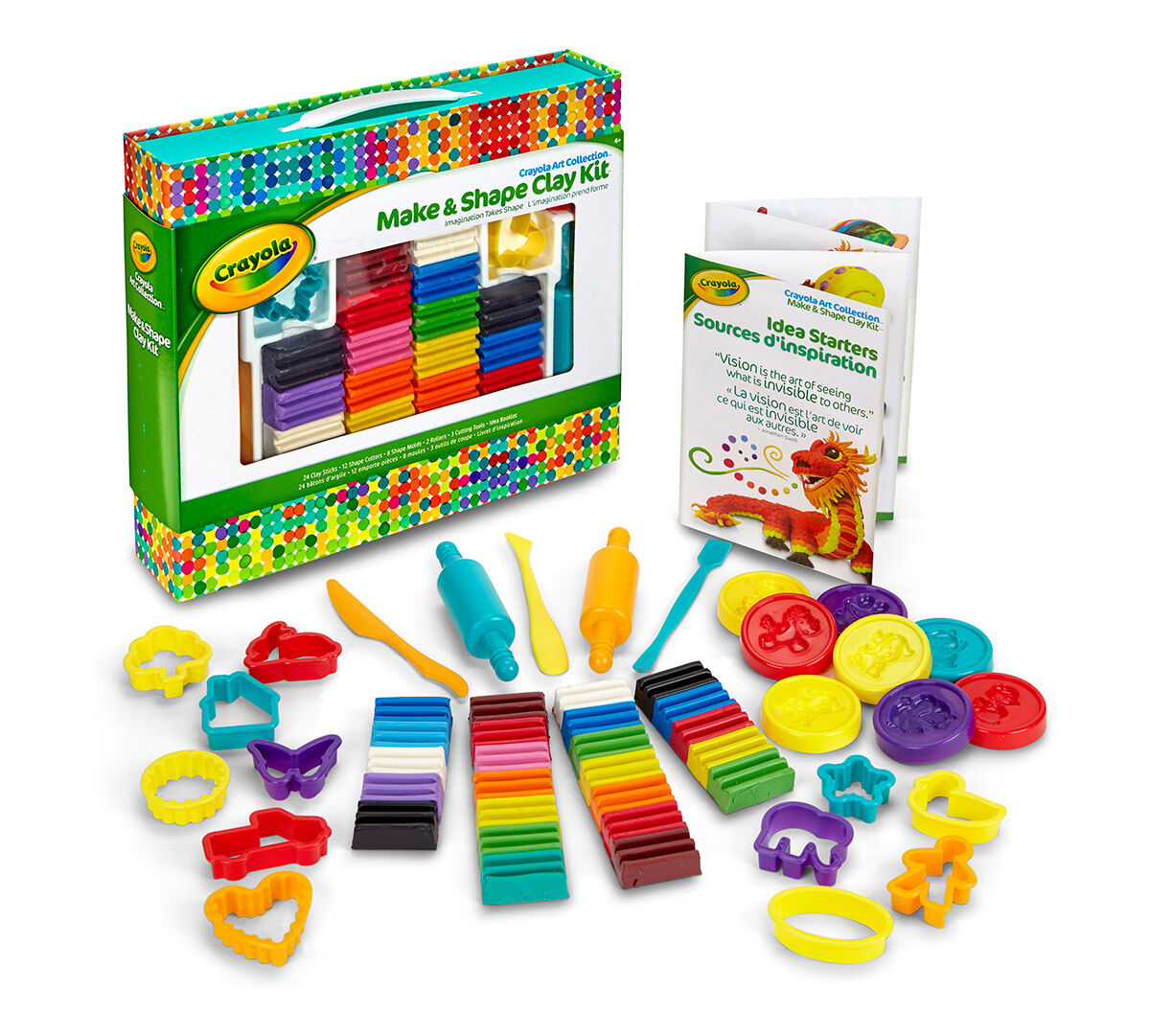 Make Amp Shape Clay Set Crayola