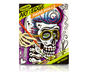 Art with Edge, Sugar Skulls Front View