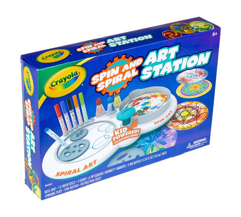 Spin & Spiral Art Station